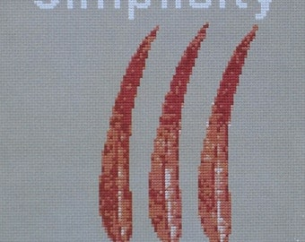 Simplicity from Spirit Series Cross Stitch Designs by Great Bear Canada
