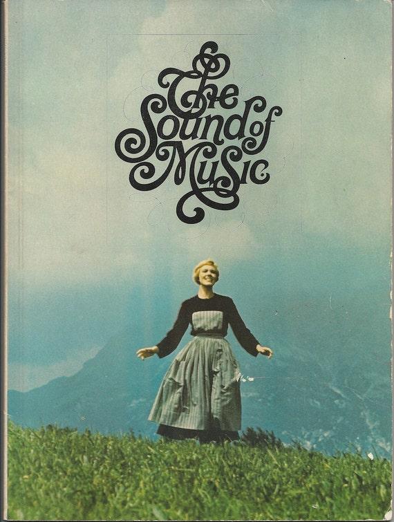 The Sound of Music Movie Souvenir Book 1965