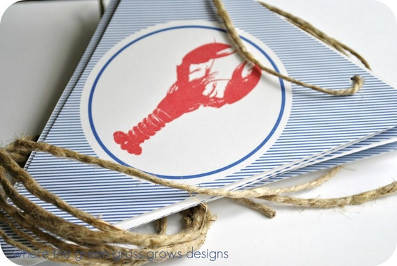 Lobster Banner (Bunting)