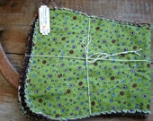 Eco friendly burp feeding spit baby pads - Set of two