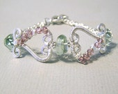 Garden Heart Bracelet Intermediate Tutorial