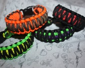 550 Paracord Survival Bracelet - CUSTOM King Cobra Weave