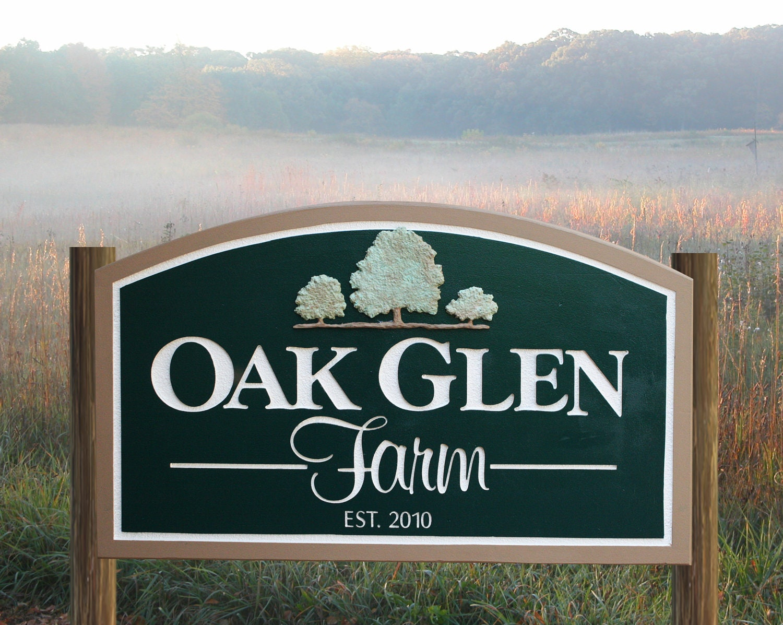 custom farm sign seasonal address sign home by richardmalacek