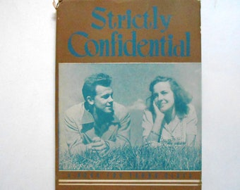 Strictly Confidential, a Vintage Book for Young Girls, 1950s