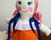 Fabric Doll Pattern (digital download)
