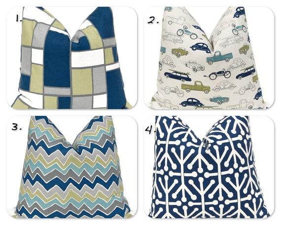 Items Similar To Pillows Baby Boy Nursery Boy Bedding
