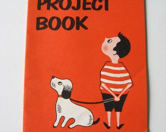 1958 Crayola Project Booklet  Projects for kinds Exc. Condiion