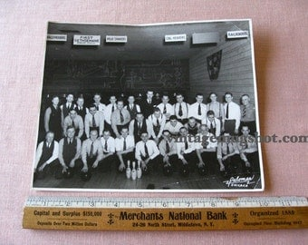 CHICAGO BOWLING Photo  8 x 10 Original  Palomar Mad Men