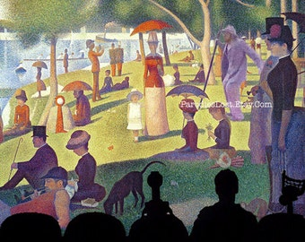 MST3K Print TORGO SEURAT Sunday Afternoon Manos Hands of Fate Mystery Science Theater 3000