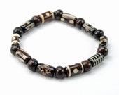 Brown Free Spirit Tribal Bracelet