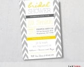 Custom Printable Bridal Shower Invite by inklove - Print your own.