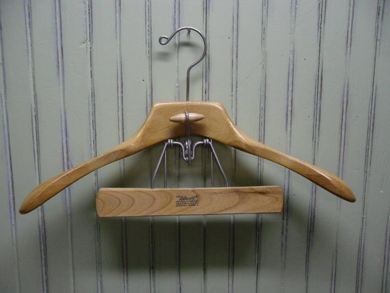 Vintage Wood Suit Hanger