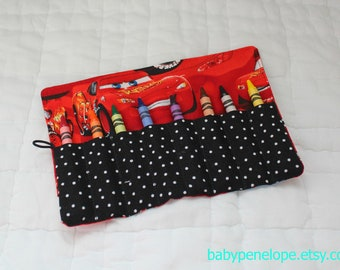 Cars Crayon Roll