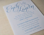 Wedding Invitations Script