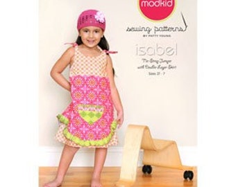 ISABEL Tie-Strap Double-Layer Jumper MODKID Sewing Pattern by Patty Young - Free US Shipping