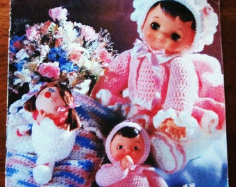 Delightful Dolls, A Charming Crochet Collection of Doll Clothes 1980s