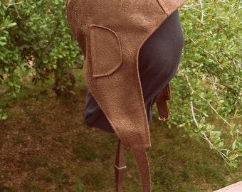 Dieselpunk or Steampunk Aviator Hat Sewing Pattern