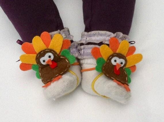 "Keep Baby Socks On, Baby Sock Buddies,""Turkey Toes"""
