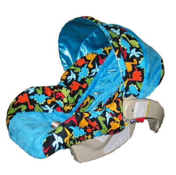ON SALE Baby Car Seat Cover Boy Car Seat Cover Black By Isewjo