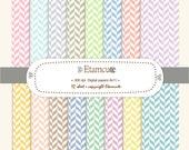 50% SALE, Soft Colour harringbone digital paper scrapbooking pink, blue, green , yellow, grey, purple E- 127