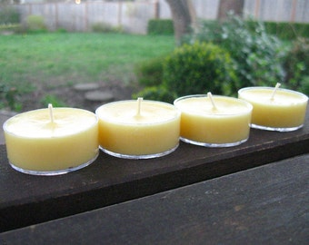 Sun and Sand Soy Tea Light Candles