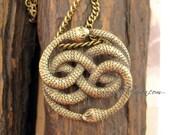 Auryn -- Steampunk Vintage  Necklace