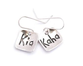 Kia Kaha Earrings.