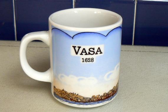 Vintage Scandinivia Vasa Ship Mug