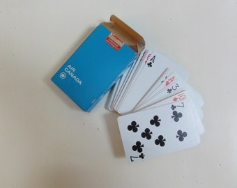 Air canada playing cards