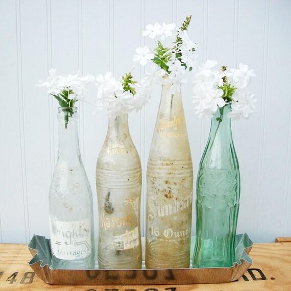 """Vintage Soda Bottle Collection - """" Summer Time """""""
