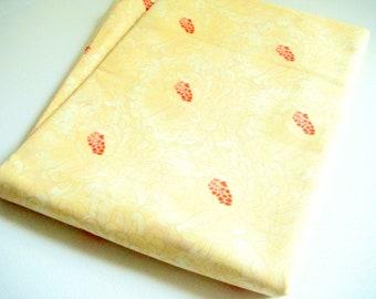 Zazu Fabric, Tina Givens Fabric, Large Yellow Petals
