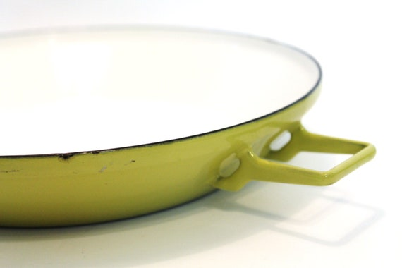 Colorful Enamel Paella Pan