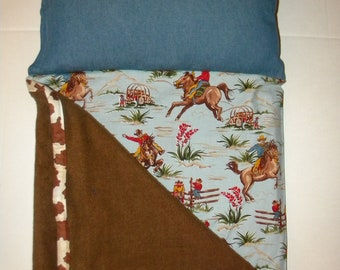 Made to Order Cowboy Preschool Napmat MADE TO ORDER