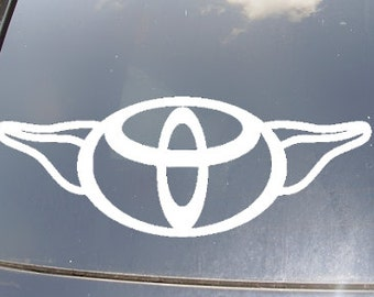 ToYoda Car Decal