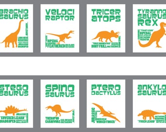 Dinosaur Series Prints