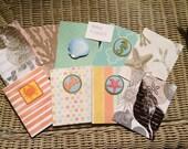 Ocean Themed Blank Cards 9 card Set                712012d