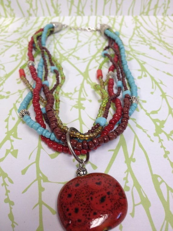 Rusty Earth Necklace
