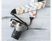 sunburst chevron camera strap cover