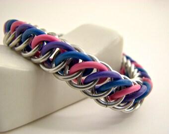 Pride not Prejudice Silver Stretch Bracelet