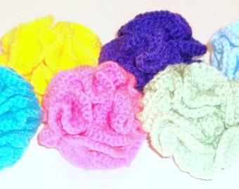 Cat Toy Poofy Ball Crochet