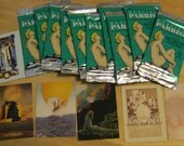 """10 Sealed Maxfield Parrish Glossy collector Cards/ Magnets/Scrapbooking/Collage 2 1/2"""" by 3 1/2"""""""
