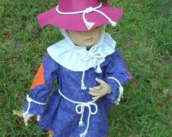 "C152  Ready To Ship in 1 Week    Adorable ""Autumn""  Scarecrow Halloween Costume  Children's Sizes"