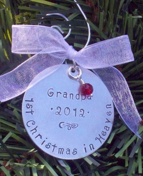 Items similar to Small CHRISTMAS ORNAMENT Personalized ...