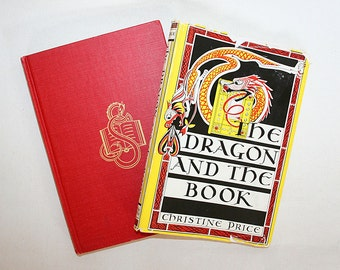 The Dragon and The Book First Edition Mid Century Book About Medieval England