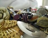 Assemblage Lot Mixed Metals including misc materials Bag number 5012