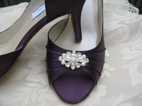 eggplant wedding shoes items similar to purple eggplant bridal shoes with 3842