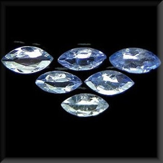 5080- FACETED - FORTY-FIVE Marquise Cut Blue Tanzanite