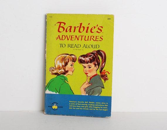 Vintage 1960's Barbie paperback book