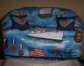 Navy tissue box couch