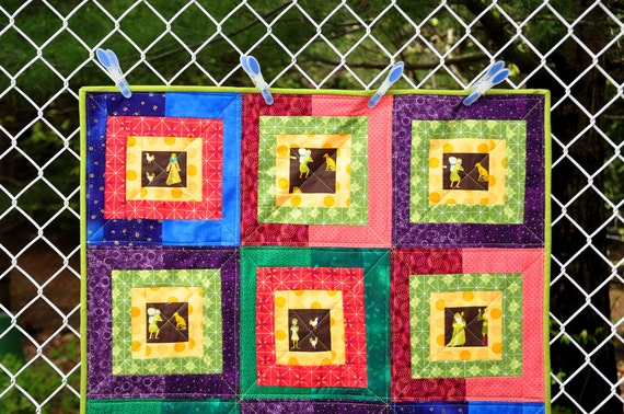 Castle Peeps Reversible Medevial Quilt filled with Kings, Queens and Knights with their Steeds